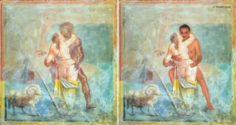 ErotiCAM. Gabinetto Segreto II - Polyphemus and Galatea. Antonio Manfredi - CAM, Casoria 2013