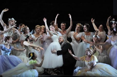 Il Falstaff alla Deutsche Oper di Berlino - photo Hans Jorg Michel