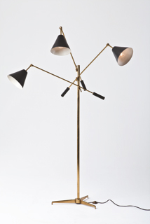 Fragile Lampada Da Terra Produzione Arredoluce Disegno Angelo Lelii