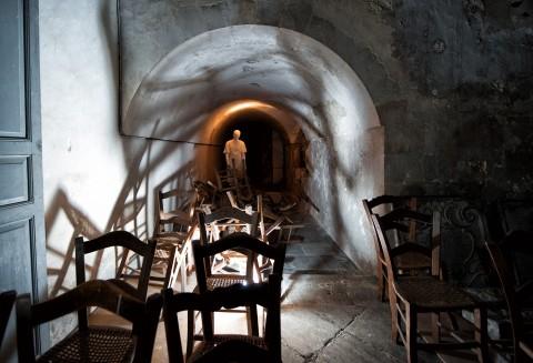 Scicli, l'installazione di Giacomo Rizzo negli spazi di Site Church