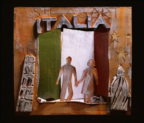 Giosetta Fioroni, Italia, teatrino 2004,  ceramica