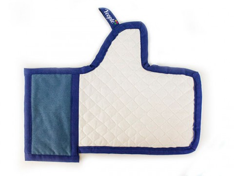 Facebook Like Oven Mitt