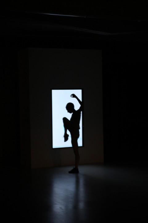 Wayne McGregor @ Collezione Maramotti, Reggio Emilia 2013 - photo Dario Lasagni