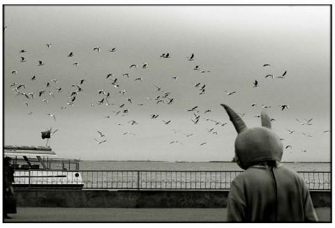 L'opera Time for Walking dell'artista Fakhriyya Mammadova