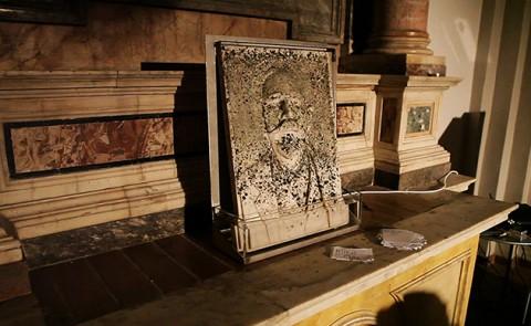 Massimiliano Pelletti, MOSS - Cenacolo San Marco, Terni 2013 - Courtesy Associazione 4Start