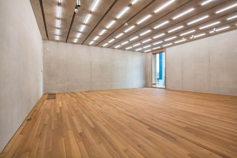 Pérez Art Museum Miami, focus gallery. (c) Herzog & de Meuron. Photo Daniel Azoulay