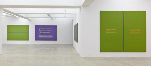 Richard Prince - Monochromatic Jokes - veduta della mostra presso Nahmad Contemporary, New York 2013