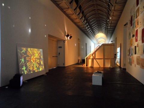 Marinella Senatore - Costruire comunità - veduta della mostra presso il Castello di Rivoli, Rivoli 2013