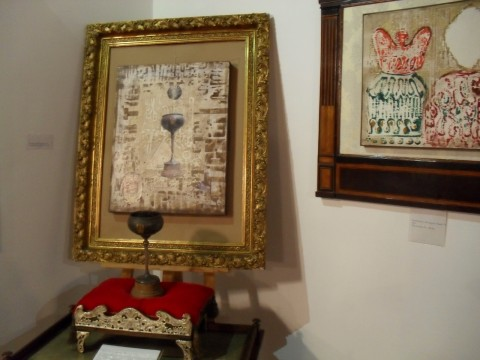 Ezio Gribaudo - Il Concilio Vaticano II - veduta della mostra presso il Palazzo Comunale, San Mauro Torinese 2013