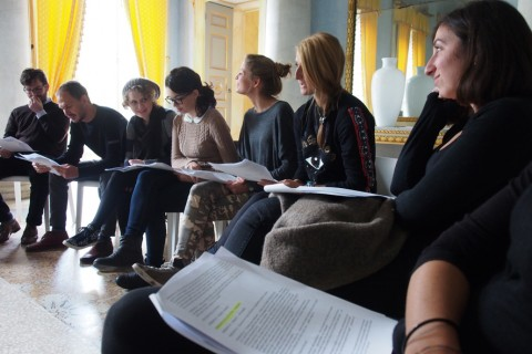 Un'educazione - Diego Tonus - Villa Panza, Varese 2013 - courtesy ALA, Accademia Libera delle Arti