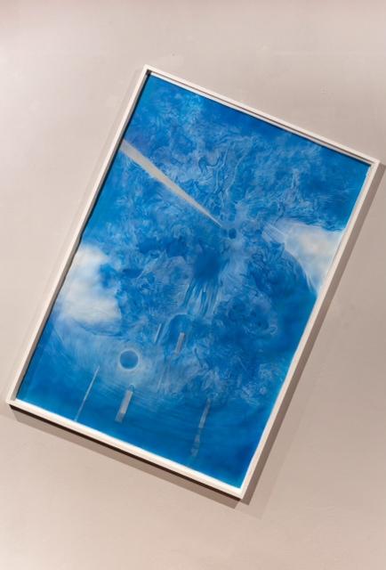 Francesco Lauretta - Esercizi di Equilibrio - veduta della mostra presso la Galleria d'Arte Moderna, Palermo 2013