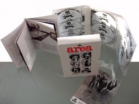 The Essential Boxset Collection degli Area con disegni di Andrea Pazienza