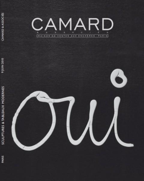 La copertina di un catalogo d'asta della Camard & Associés