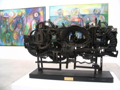 Serge Brignoni - Artista e collezionista. Il viaggio silenzioso - veduta della mostra, Chiasso/Lugano 2013