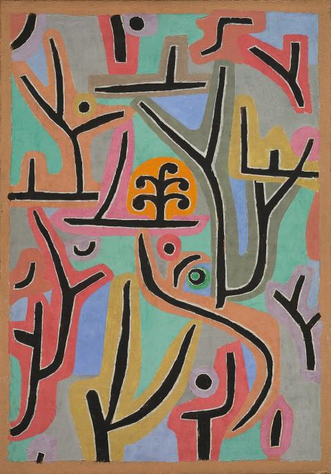 Paul Klee, Park near Lu, 1938, Zentrum Paul Klee