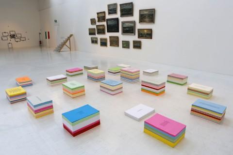 Quarantanni d'artecontemporanea. Massimo Minini 1973-2013 - veduta della mostra presso la Triennale, Milano 2013 - photo Fabrizio Marchesi