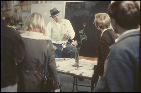 Joseph Beuys, Büro für Direkte Demokratie durch Volksabstimmung - Documenta, Kassel 1972