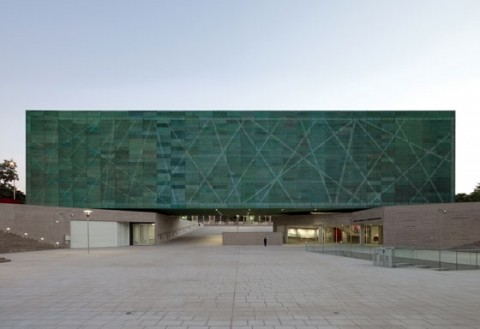 Estudio América, Museo de la Memoria y de los Derechos Humanos, Santiago del Cile - photo Cristóbal Palma