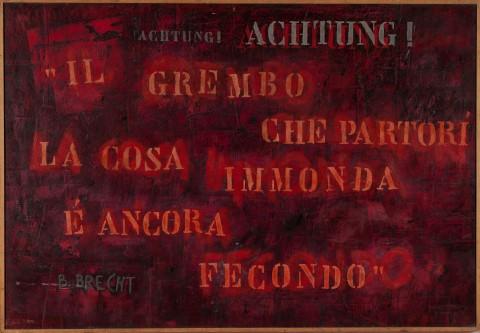 Bruno Canova, La cosa immonda, 1974