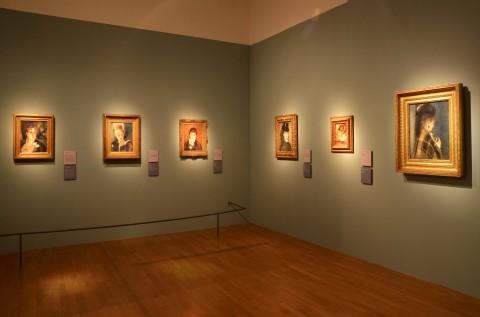 Renoir. Dalle collezioni del Musée d'Orsay e dell'Orangerie - veduta della mostra presso la GAM, Torino 2013