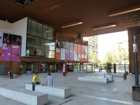 Cristian Fernandez, Centro Cultural Gabriela Mistral, Santiago del Cile