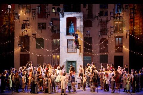 Richard Strauss, Feursnot, Teatro Massimo, Palermo 2014 - regia di Emma Dante - photo Studio Camera/Franco Lannino
