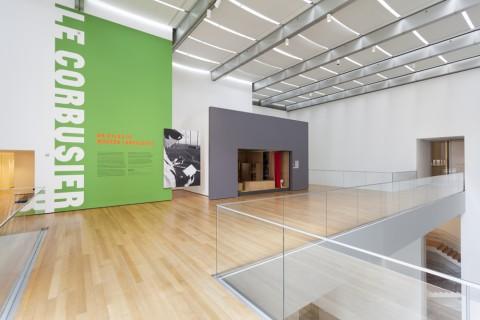 Le Corbusier: An Atlas of Modern Landscapes - veduta della mostra presso il MoMA, New York 2013