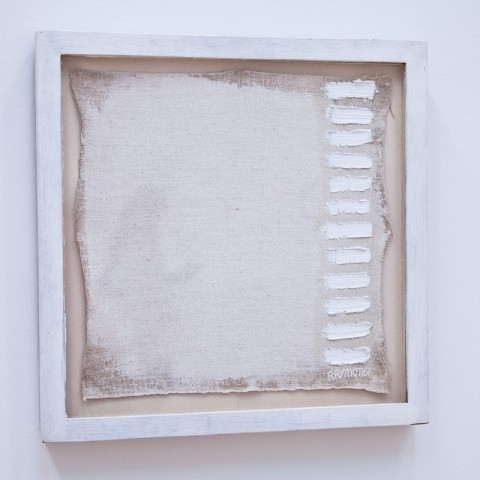 Robert Ryman, A painting of twelve strokes, 1961 - The San Francisco Museum of Modern Art