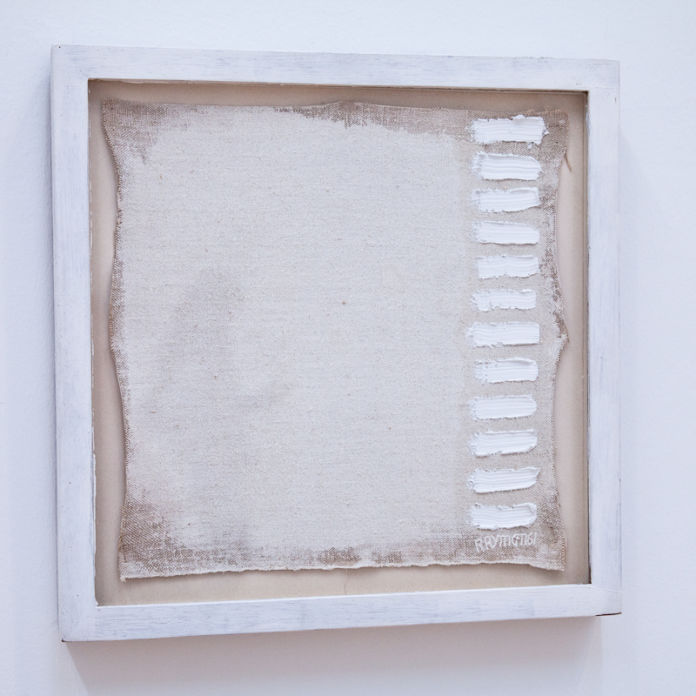 Robert Ryman, A painting of twelve strokes, 1961 - The San Francisco Museum of Modern Art