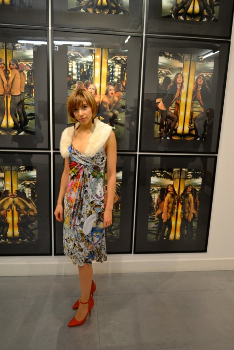 Tranformer: Aspect of Travesty - veduta della mostra presso la Richard Saltoun Gallery, Londra 2013 - Giulia Casalini