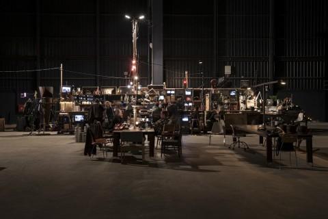 Dieter Roth & Björn Roth - Islands - veduta della mostra presso HangarBicocca, Milano 2013 - photo Agostino Osio