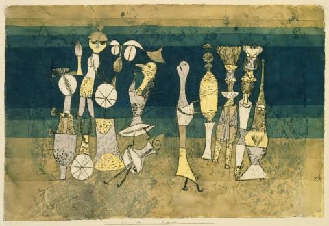 Paul Klee, Comedy, 1921, Tate