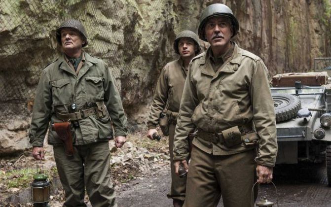 George Clooney, The Monuments Men (2014)
