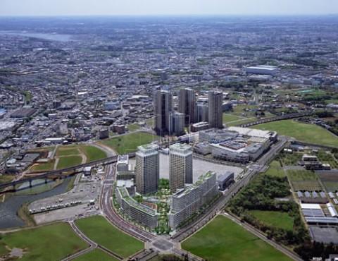 Kashiwanoha Campus City, Kashiwa, Tokyo