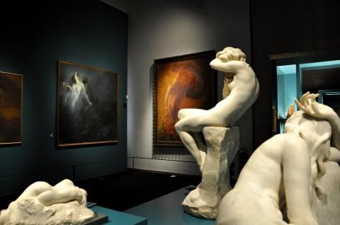 Liberty. Uno stile per l'Italia moderna - veduta della mostra presso i Musei di San Domenico, Forlì 2014 - photo Marta Santacatterina