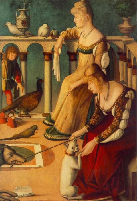 Vittore Carpaccio, Le cortigiane (1510-15)