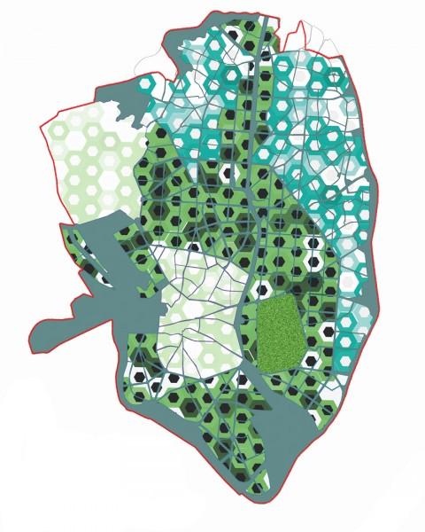 Herreros Arquitectos, Madrid Central Project, planimetria generale