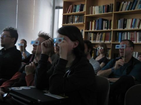 3d-audience all'Artsci Salon
