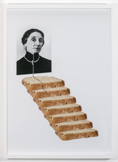 Nicola Gobbetto, La scala di pane, 2013, stampa digitale su carta Kodak, cm 50x70, Courtesy Galleria Fonti, Napoli