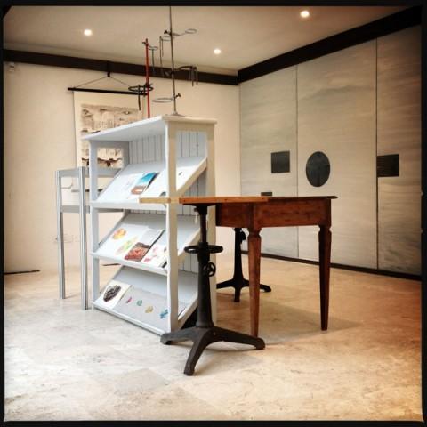 Above/Below Ground - veduta della mostra presso il Museo dell'Accademia dei Fisiocritici