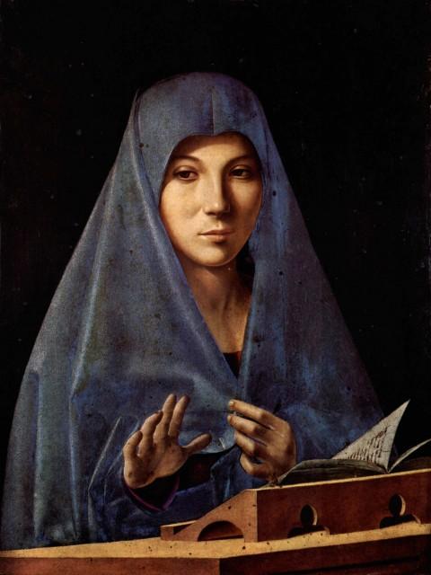 Antonello da Messina, L'Annunciata, 1476