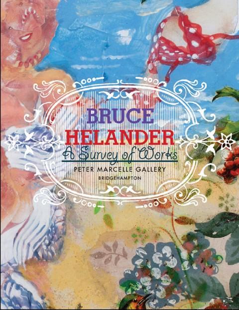 Bruce Helander, catalogo, Peter Marcelle Gallery, courtesy l'artista