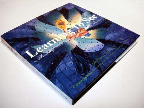 Copertina del libro Learning To See di Bruce Helander, courtesy l'autore