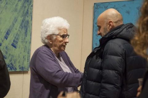 Anna Di Fusco - Opere - veduta della mostra presso Minerva Auctions, Roma 2014