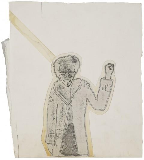 Francesco Clemente, Senza titolo, 1971 - Fotocopia su carta, cm 27,9 x 24,1 - Collezione dell'artista