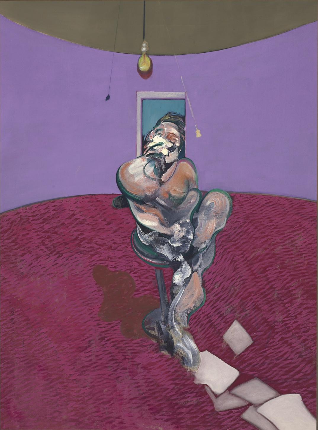 Francis Bacon, Portrait of George Dyer Talking, 1966 - collezione privata