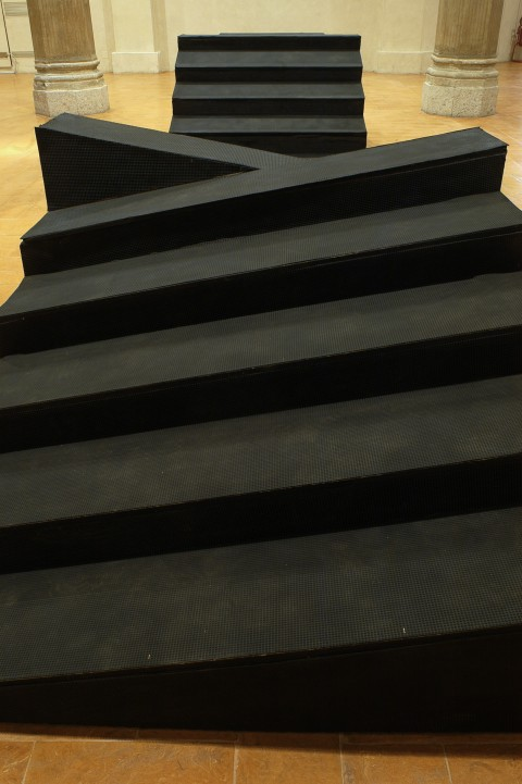 Gianni Colombo, Bariestesi delle scale, 1975 - photo Marianne Boutrit - courtesy Archivio Gianni Colombo