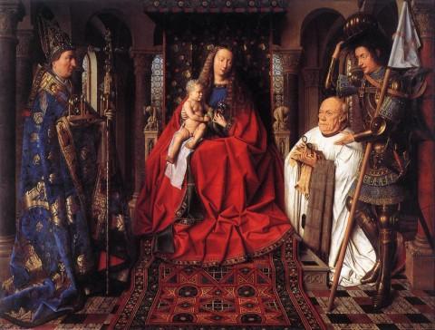 Jan van Eyck, Madonna del canonico van der Paele, 1436