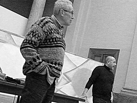 Joan Baixas e Massimo Mazzone - Seminario a Brera per il Festival EX POLIS