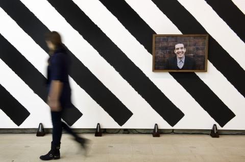 Martin Creed - What's the point of it? - veduta della mostra presso la Hayward Gallery, Londra 2014 - photo Linda Nylind